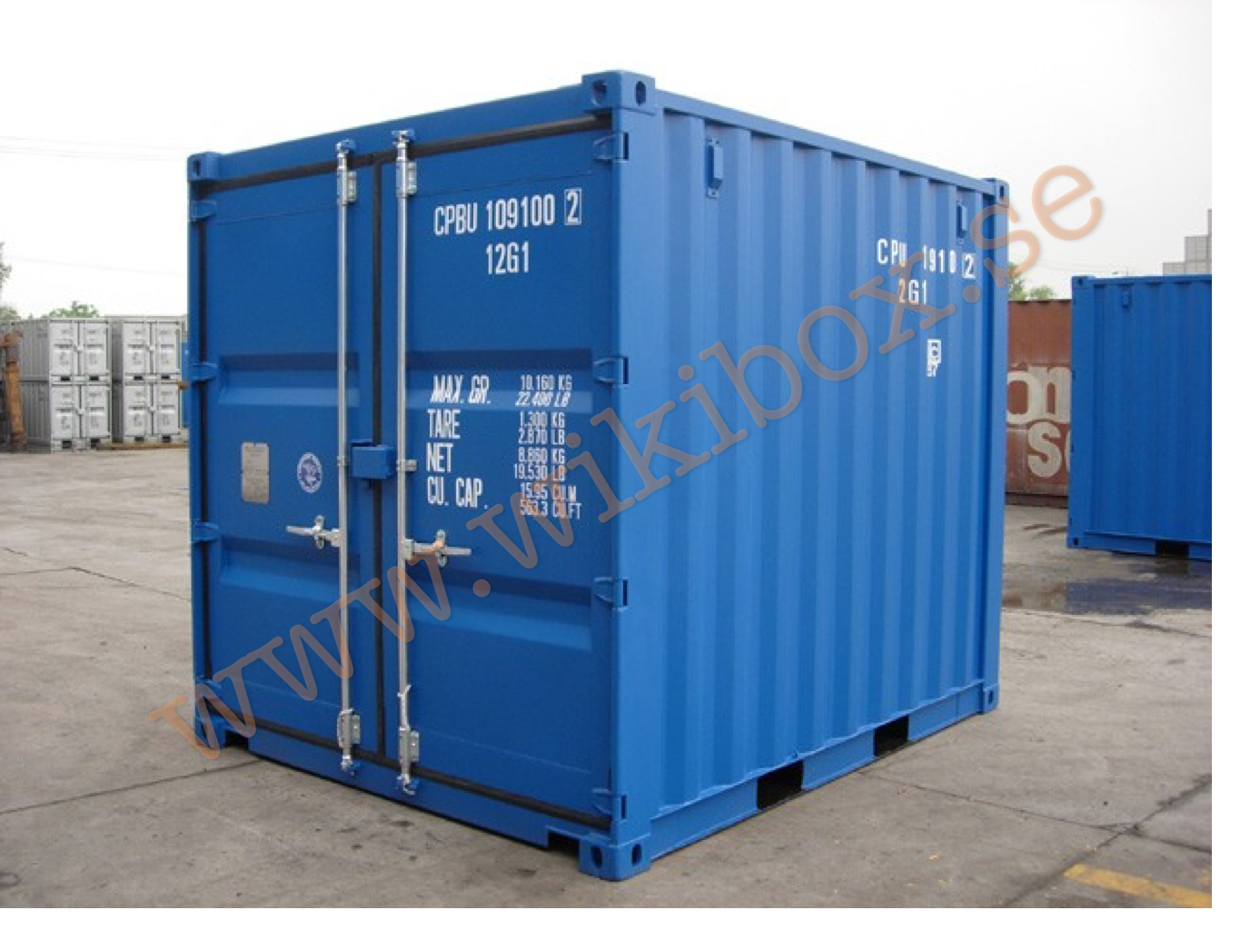 6ft container